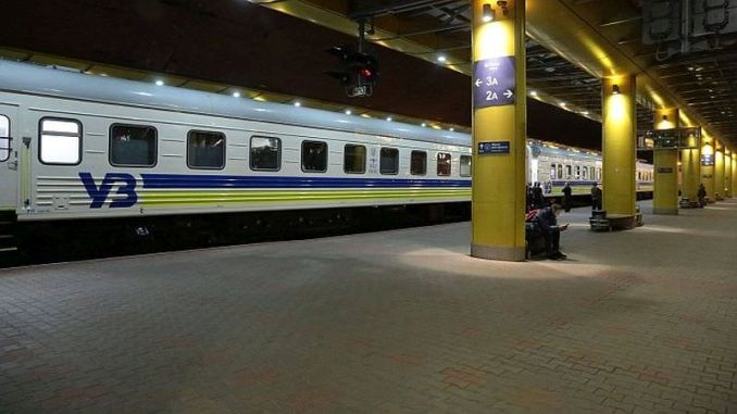 Los pasajeros de trenes ucranianos generan sorpresa