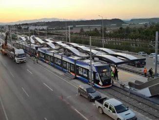 Якщо у нас є на трамваї трамвайна лінія yesiltepe