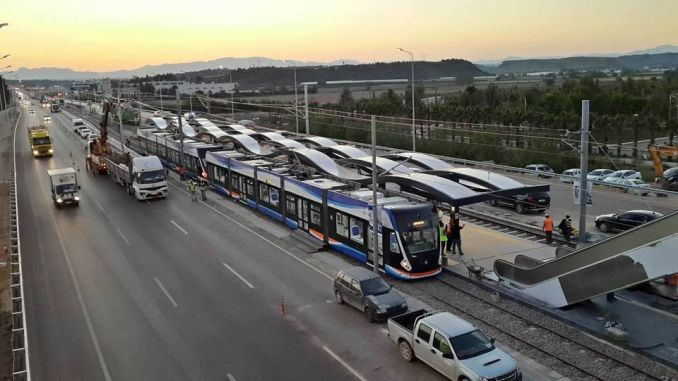 If we have yesiltepe tram line comes into service