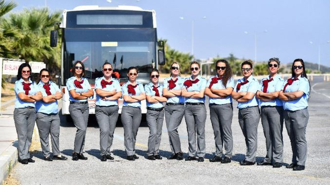 Women's Drivers in Izmir started to work