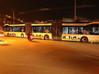 trambus test drive started in anlıurfada