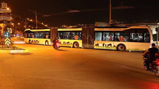trambus test drive started in anlıurfada