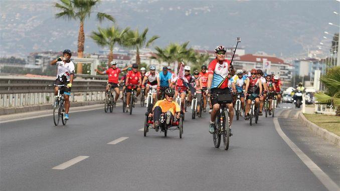 international alanya bicycle festival starts