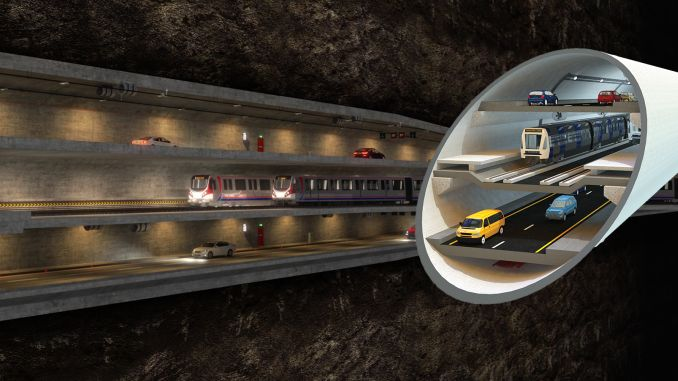 Where is the big Istanbul tunnels?