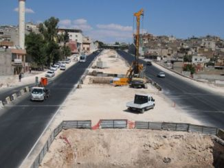 Met Viaduk Construction begin by Karakoyun Koprulu Junction