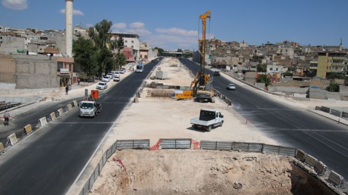Started Viaduk Construction at Karakoyun Koprulu Junction