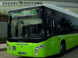 Kocaelispor Golcukspor Macina رحلة حافلة إضافية