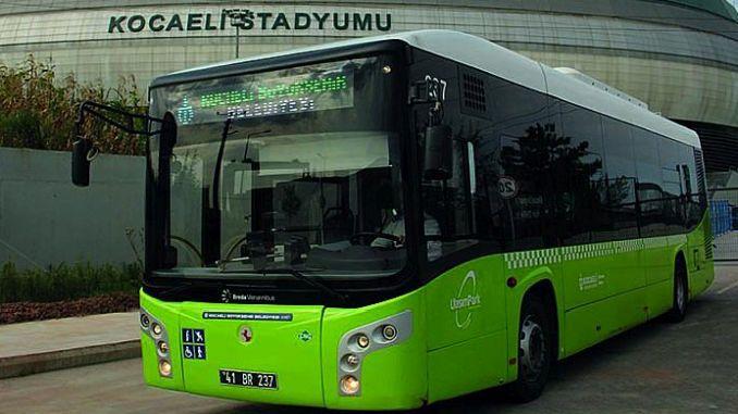 Kocaelispor Golcukspor Macina Expedición de autobús adicional
