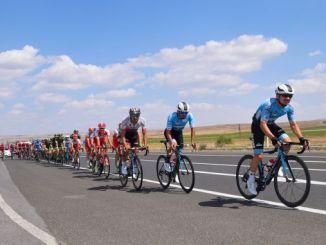 Kerékpáros mesterpedál a kayseri olimpiai pontokhoz