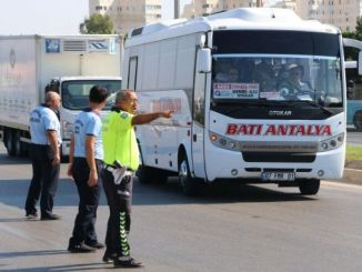 mass transportation vehicles in antalya audited
