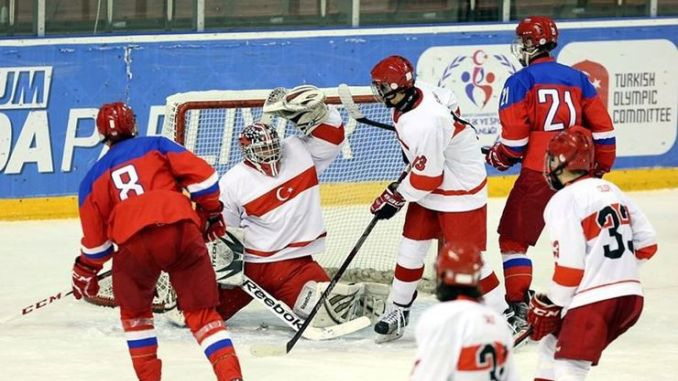European ice hockey matches will be held in Istanbul with the support of Ibb
