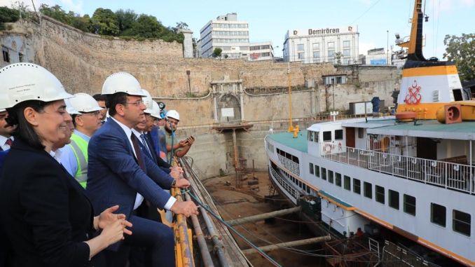 imamoglu halic shipyard