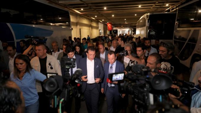 President imamoglu ibbye transferred to the bayrampasa bus station found reviews