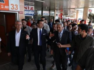 President imamoglu examined the abandoned harem bus station to his fate