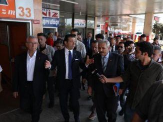 صدر امام املو نے ترک کر دیئے گئے حرم بس اسٹیشن کا جائزہ لیا۔
