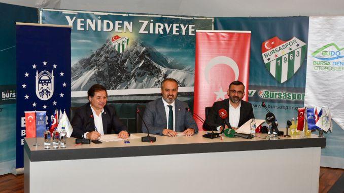 Unterstützung für Burulasin und Bursaspor