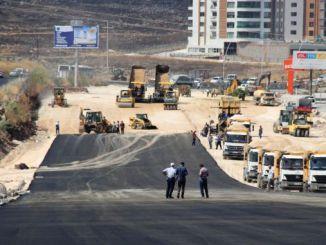 asfaltni asfaltni radovi započeli su na agilnom čvoru