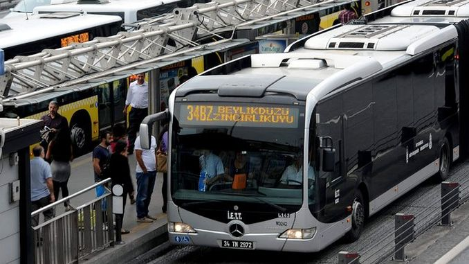 metrobus service after the earthquake