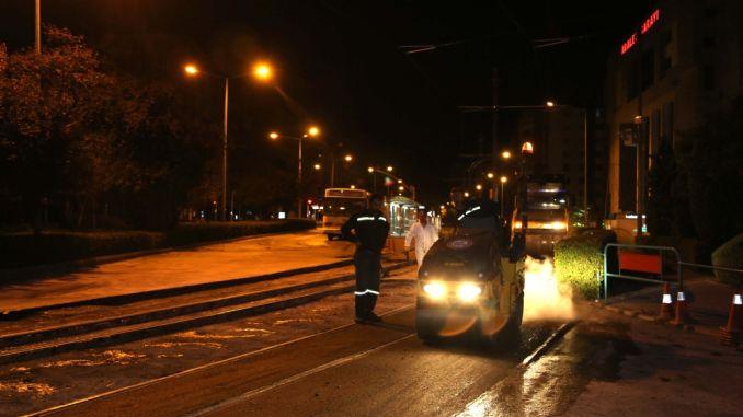 Eskisehirs neue Straßenbahnlinien sind im Gange