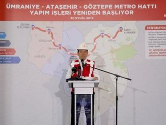 """""""Goztepe umraniye"""" metro linijų darbai pradėti iš naujo"""