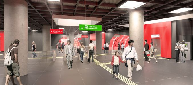 ibb kadikoy sultanbeyli subway line took action