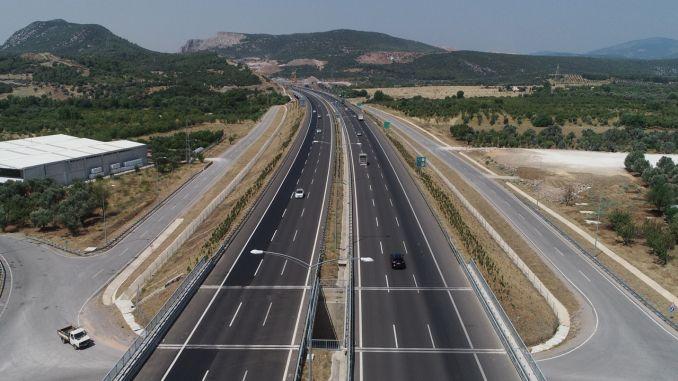 istanbul izmir highway used a million vehicles