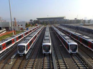 Metro-reto de Izmir celas pliigi la mejlejon