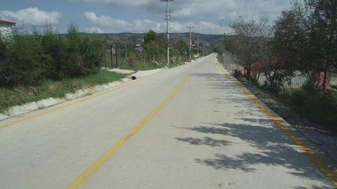 бетонная дорога в Измит Гедикли и Зейтинбурну