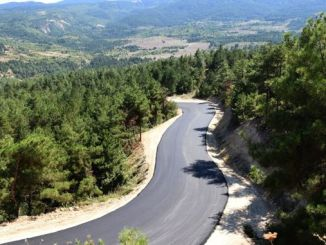 keltepe ski resort road is paved
