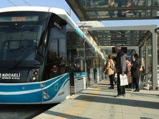 Kocaelide offentlig transport startede i dag fra stigningen