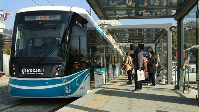 Kocaelide public transportation started today as of the raise