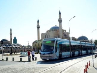 History of trams in Konya