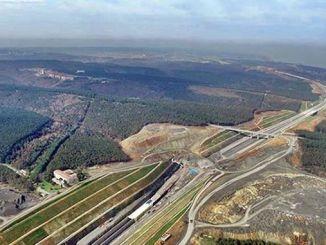 採石場のライセンスは、ノースマーマラ高速道路の完成後にキャンセルされます