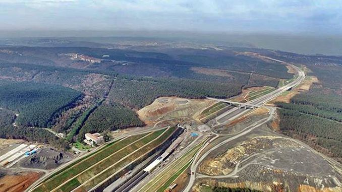 the license of the quarry will be canceled after the completion of the north marmara motorway