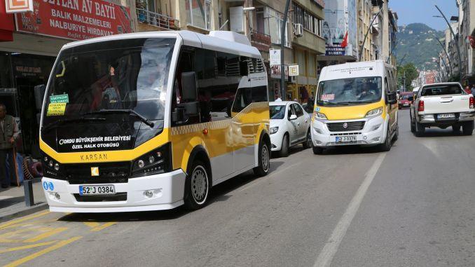 military public transport period began