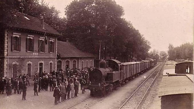 залізничного транспорту в Османській імперії
