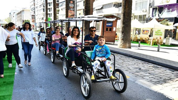 city and open streets without cars