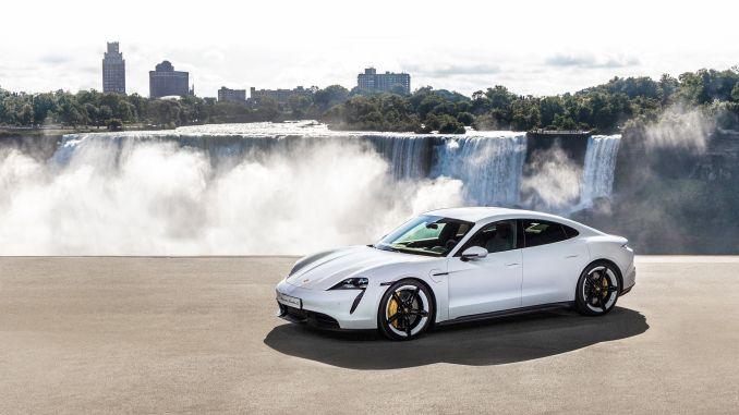 El primer auto deportivo totalmente eléctrico de Porsche Porsche Thai
