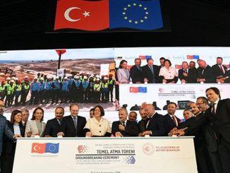Європейська азіатська залізниця, що фінансується ЄС, заклала основу