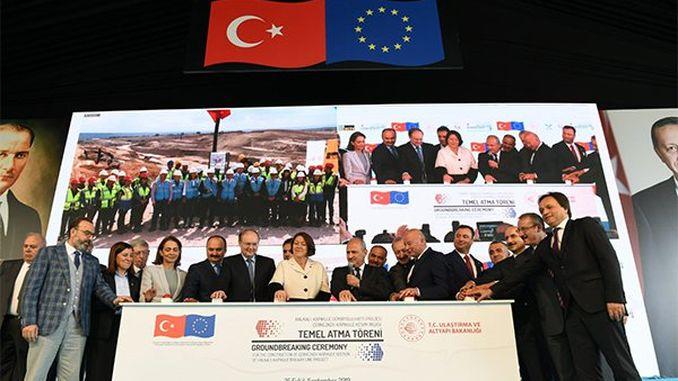record eu-financed european asia railway laid the foundation
