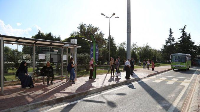 parada de la comunidad para aliviar la salud y la seguridad se abrió la calle dervisoglu