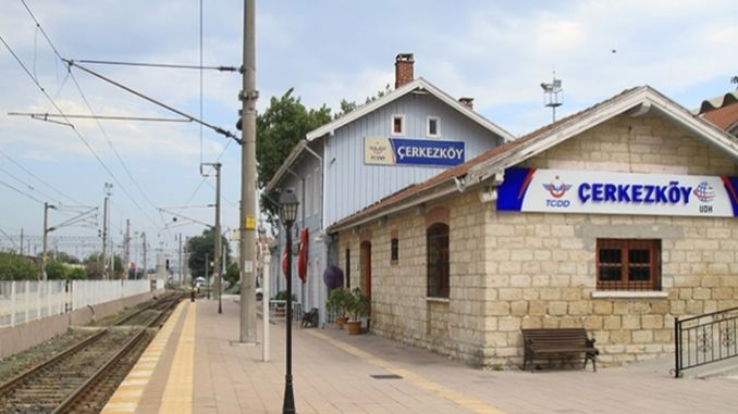 in today's september cerkezkoy kapikule km electrification