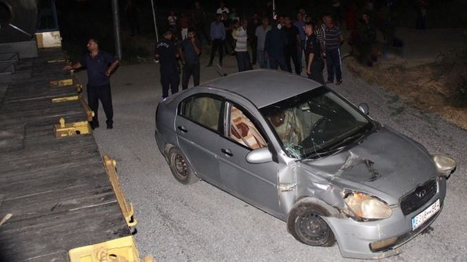 tarsus injured on a level crossing