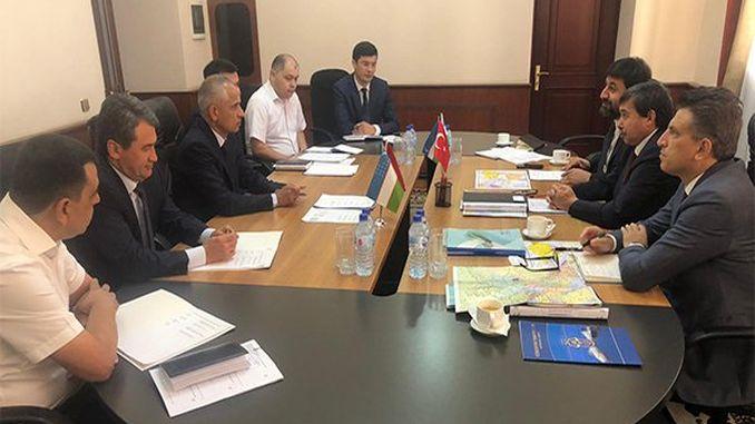 cooperación con transporte tcdd y ferrocarriles de uzbekistán