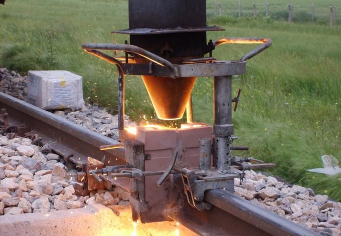 termite rail welding