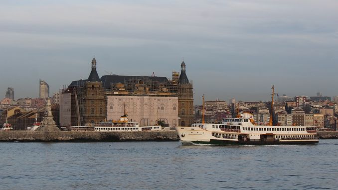 the ministry of transportation did not want to tender the demon haydarpasa