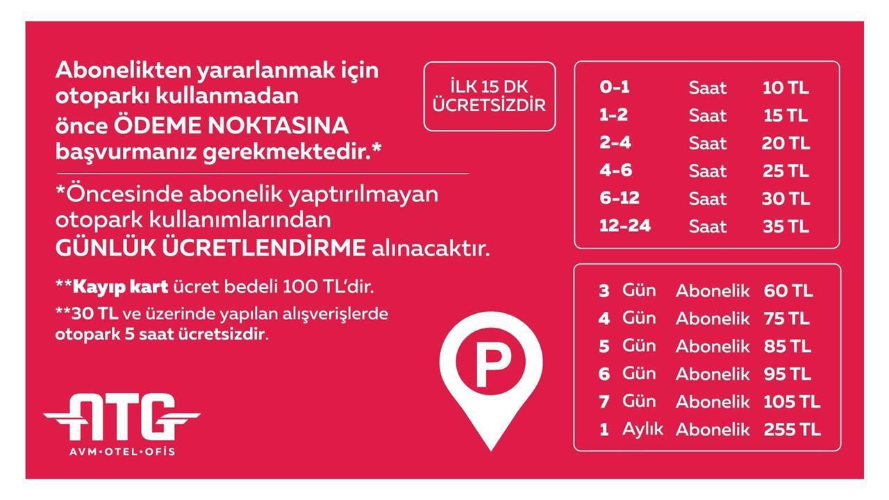 Ankara YHT Gari Parking Fees