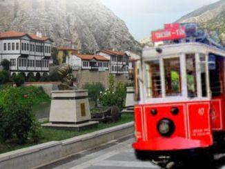 მუშაობა დაჩქარდა Amasya ნოსტალგიური ტრამვაის პროექტისთვის