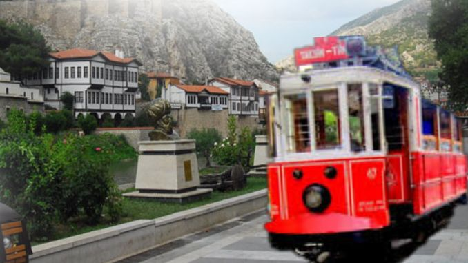 Work Accelerated for Amasya Nostalgic Tram Project