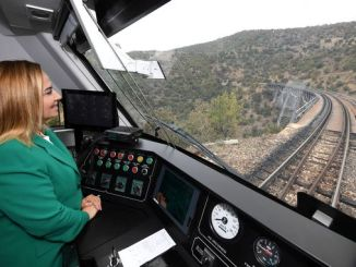anatolian dmu national train set usakta test drive started